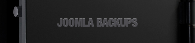 Backing Up Joomla